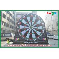 China 0.55mm PVC Inflatable Sports Games Velcro Dart Football Games Board on sale
