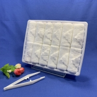 Buy cheap Soft Bleached Microfiber Hand Towel product