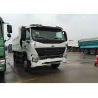 China LHD 371HP Sinotruk Howo Dump Truck Tipper Dump Truck 6200 * 2300 * 1600mm Cargo Body on sale