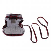 Buy cheap British Style No Escape Cat Harness For Kittens Cotton Leash Set Feel Soft product