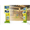 Innovative and Smart, Waterproof Passport Reader and Card Dispenser Multimedia Kiosks