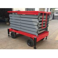 Buy cheap 500kg Aerial Work Platform 2.2kw , Height 11 Meters Heavy Duty Lift Table product