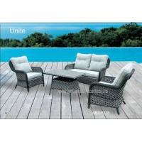 Buy cheap Outdoor Rattan Garden Furniture Sets With Cushion , Rattan Table And Chairs product