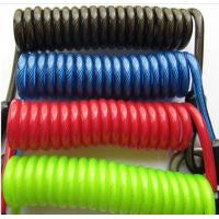 High strong colorful plastic spring coiled string cords tethers ideal for your facilitates