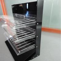 Buy cheap 3 Tiers Acrylic Rack for Lipgloss Compartment Plexiglass Lipstick Display Stand product