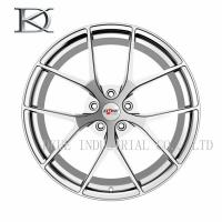 Buy cheap Professional OEM Aluminum Forged Wheels One Piece With 18 Spokes product