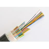 Buy cheap Underground Jelly Filled Telephone Cable , 50 Pair Armoured Telephone Cable product