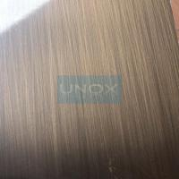 Buy cheap 304 Bronze Hairline Stainless Steel Plate-CopperHairline Bronze Stainless Steel Sheets product