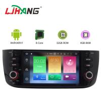Buy cheap Android 8.0 Car FIAT Dvd Player with Stereo Radio GPS for LINEA NEW product
