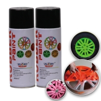 Buy cheap 400ML Acrylic Rubber Spray Paint Exterior Red Dip Wheel Paint product