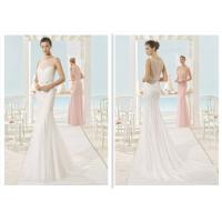 Sequins Plus Size Mermaid Tail Wedding Dress For Slim Bridal And Bridesmaid