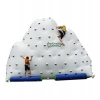 China Inflatable Mountain Water Toy , Inflatable Rock Climbing Wall Three Sides on sale