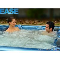 Buy cheap Customized luxury square acrylic whirlpool massage hydro hot tub 2350 * 2300 * 900mm H product