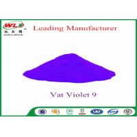 Buy cheap Cotton Fabric Permanent Fabric Dye C I Vat Violet 9 Vat Dyes Heat Resistant product
