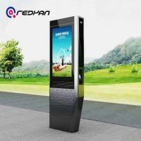 Buy cheap 65 Inch Totem Digital Signage , Lcd Advertising Player Poster Telephone Booth product