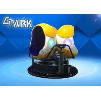 Buy cheap Newest Electronic 360 Degree Virtual Reality 3 Seats 9d Vr Egg Cinema from wholesalers