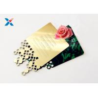 Buy cheap Mirror Acrylic Gifts , Acrylic Invitation Card With Custom Shape For Wedding / from wholesalers