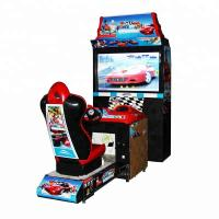 Buy cheap 42 Inch Car Racing Arcade Machine Luxury Adults Outrun Arcade Cabinet from wholesalers