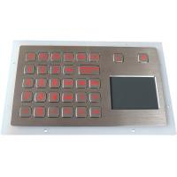 Buy cheap Industrial Keypad IP67 with Touchpad Backlight Panel Mount for Outdoor product