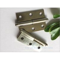 China Ball Tip Nickel Plated Commercial Door Hinges Detachable Movable on sale