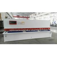 China Plate Hydraulic Sheet Metal Cutting Machine NC Control 8 X 4000mm on sale