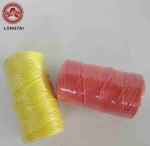 Buy cheap 4000D 9000D 1mm - 5mm Diameter PP Binder Twine Plastic Twine Rope product