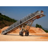 Buy cheap ISO9001 Conveyor Mobile Concrete Block Making Machine product