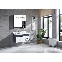 Buy cheap Environment Friendly Modern Vanity Set , 4 Metal Legs Wall Hung Vanity product