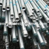 Buy cheap Building Materials Hot dip galvanized pipe/mild steel pipe in stock 8 inch product