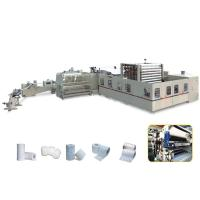 Buy cheap 4 Blades Tissue Paper Manufacturing Machine Φ76mm Jumbo Roll Core product