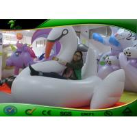 Buy cheap PVC Lovely Inflatable Water Toys Floating White Swan For Holiday Celebrations product