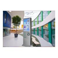 Buy cheap 4 Cell Phone Charging Lockers 43 Inch Advertising Digital Signage Floor Stand product