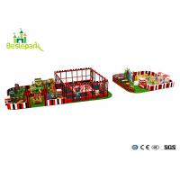 Buy cheap Commercial Centre Kids Indoor Playground Anti - Static Colorful Theme product