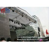 Buy cheap Galvanized Steel Layer Space Frame TrussAdjustable Base Stable Structure from wholesalers
