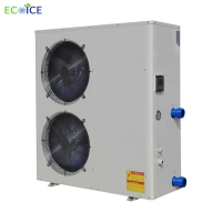 Buy cheap Seafood Cylinder 2p Chiller Fish Pond Aquarium Industrial Water Cooled Water Chiller for water cooling with low price from wholesalers
