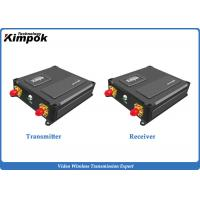 Buy cheap Miniature COFDM Video Transmitter for UAV / Drones 40km LOS Long Range Wireless Transceiver with Data Transmission from wholesalers