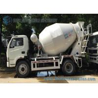 Buy cheap 4 x 2 Mini Concrete Mixer Pump Truck Manual Control  3 Cubic Meter For ​Powerful Powertrain product