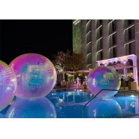 Buy cheap Dazzle Color Reflective PVC Inflatable Mirror Ball For Decoration product