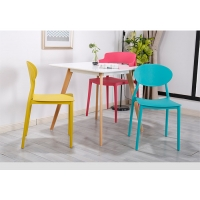 Buy cheap Contemporary Pp 81x41x41cm Plastic Dining Chairs from wholesalers