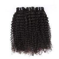 "Buy cheap Natural Color Peruvian Body Wave Hair Bundles Curly Dancing And Soft 10"" To 30"" Stock product"