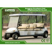 China EXCAR 8 seater Electric Golf Buggy Customized Logo With Trojan Acid Battery on sale