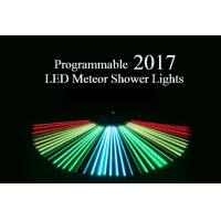 Buy cheap Programmable Meteor Shower LED Christmas Lights UK / US Plug Full Color 80cm Length product