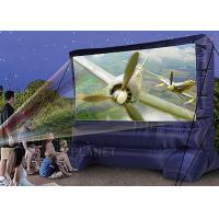 Buy cheap Lightweight Inflatable Outdoor Projector Screen Fabric Material Apply To Home product