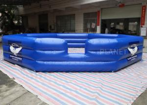 Buy cheap Air Sealed PVC Custom Size Logo Inflatable Gaga Court For Kids And Adults Inflatable Gaga Ball Pit product