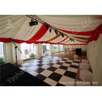 Buy cheap Custmized Outdoor Tents Marquee Luxury Decoration for Wedding Parties product