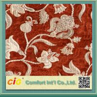 Buy cheap Customized Vintage Sofa Upholstery Fabric , Polyester Acrylic Chenille Fabrics Multicolor product