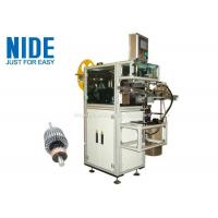 China Rotor Insulation Paper Insertion Machine With Low Pressure Alarm Function on sale