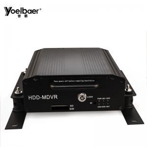 Buy cheap H.264 High Profile 4Ch Mobile DVR CCTV SSD HDD DVR Truck School Bus MDVR product