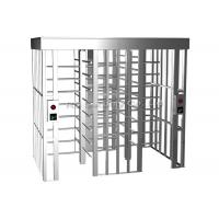 Buy cheap 304 Stainless Steel Full Height Turnstiles Access Control Turnstile Automatic product