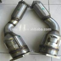 Buy cheap Three Way Car Catalytic Converter Shell for Porsche Cayenne Turbo Cleaner 955113021BX 955113022BX product